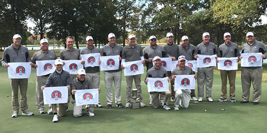 The victorious Tennessee amateur team<br>(TGA photo)