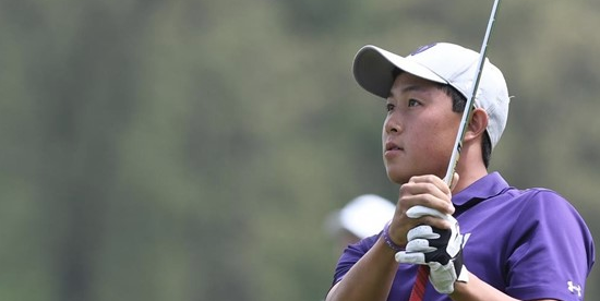 Medalist Dylan Wu of Northwestern <br>(Northwestern Athletics Photo)