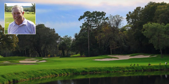 Allen Barber is on top after round one at Innisbrook<br>(Innisbrook Resort photo)