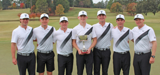 The winning Vanderbilt team <br>(Vanderbilt Athletics Photo)