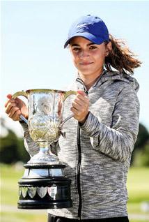 New Zealand Women's Amateur champion Silvia Brunotti