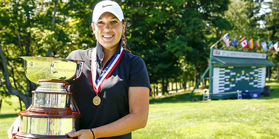 Defending champ Julia Potter is going for a 3rd title at Champions<br>(Golfweek photo)