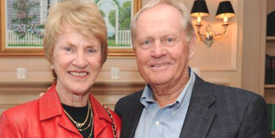 Jack & Barbara Nicklaus <br>(FSGA Photo)