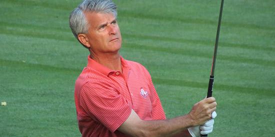 Amateur golfer bill britton