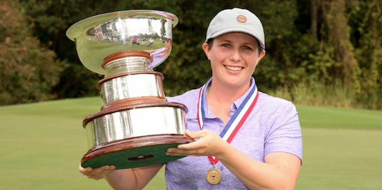 31st U.S. Women's Mid-Amateur winner Kelsey Chugg <br>(USGA Photo)