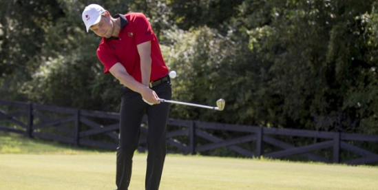 Simon Zach of Louisville is on top after round one<br>(Louisville Athletics photo)