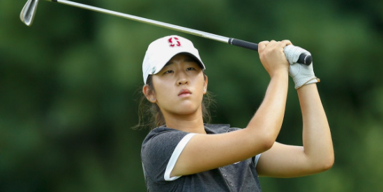 Stanford sophomore Andrea Lee <br>(Twitter Photo)
