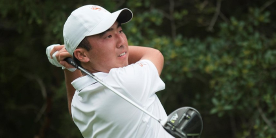 Doug Ghim wins by two-strokes <br>(Texas Athletics Photo)