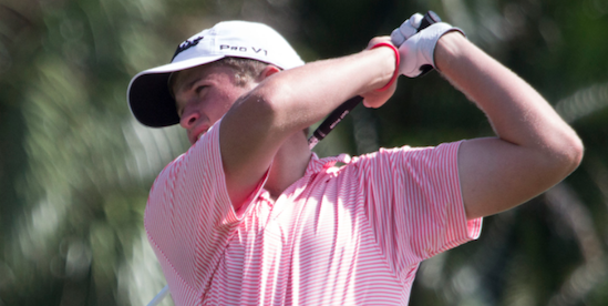 LSU commit Garrett Barber <br>(AJGA Photo)