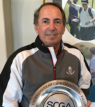 Craig Steinberg picked up his latest SCGA win at his home club<br>(SCGA photo)