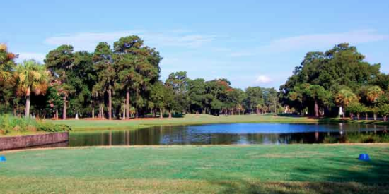 First tee at Wilmington Island Club <br>(Wilmington Island Club Photo)