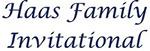 Haas Family Invitational Junior