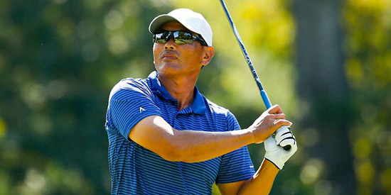 Ken Tanigawa pulled off a rare feat, qualifying as an amateur for the Champions Tour<br>(USGA photo)