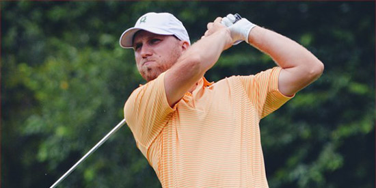 Justin Tereshko's paths as a coach and player are taking similar trajectories<br>(Carolinas Golf Association photo)