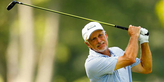 Doug Hanzel has a lot to play for on Thursday<br>(USGA photo)