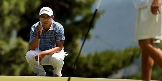 Jim Liu was the #1 junior and a regular in the Stanford starting lineup.<br>Then he stepped away from competitive golf. (Golfweek photo)