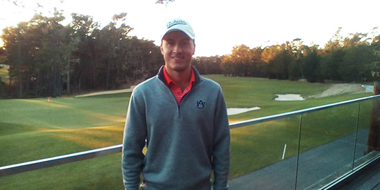 Ryan Knop grinded out a win at Poppy Hills