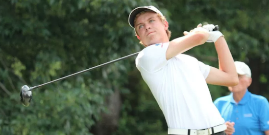 Vanderbilt commit William Moll leads after 36-holes <br>(Golfweek Photo)