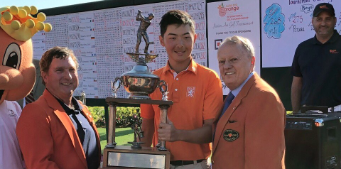 Boys' Junior Orange Bowl winner Jerry Ji <br>(Junior Orange Bowl Photo)