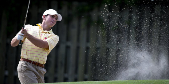 36-hole leader Greyson Porter leads by four <br>(Naples Daily News Photo)