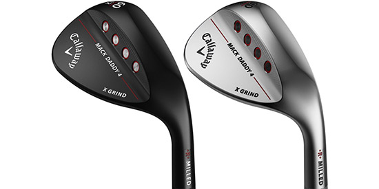 Callaway and Roger Cleveland Introduce Mack Daddy 4 Wedges