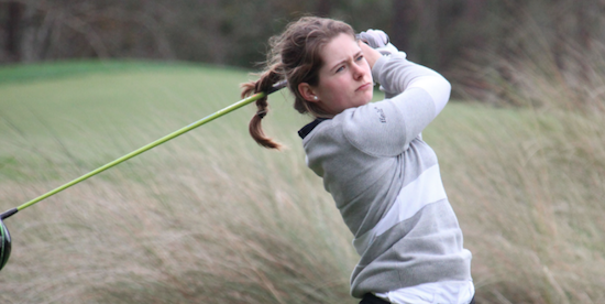 French native Mathilde Claisse is the first round leader <br>(AJGA Photo)