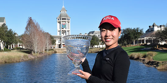 Angelina Ye is committed to Stanford <br>(AJGA Photo)