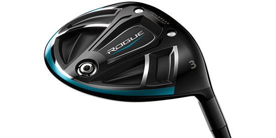 The Callaway Rogue Fairway Woods