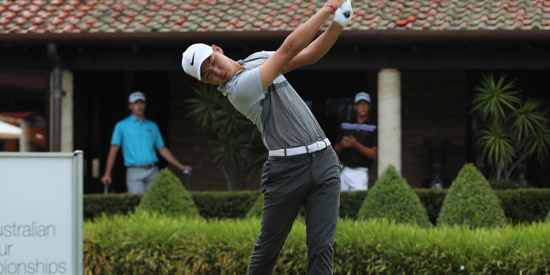 Min Woo Lee enters the Australian Am at #4 in the GW/AGC World Ranking<br>(Golf Australia photo)