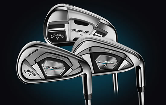 Callaway Golf introduces New Rogue Irons and Hybrids