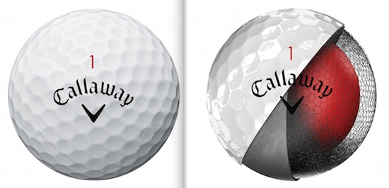 The new Chrome Soft ball features a new Graphene-infused core