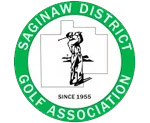 Saginaw District Golf Association Tournament logo