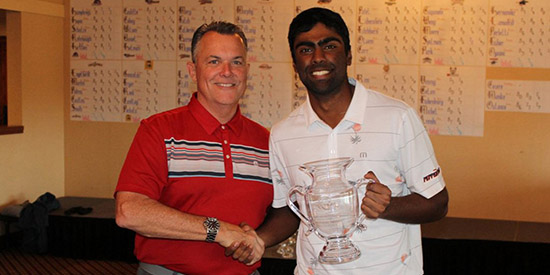 Sahith Theegala won by 16 at Saticoy CC (Pepperdine photo)