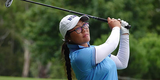 Doey Choi will look to win her second Women's NSW Amateur <br>(NSW Photo)