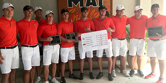 OSU has won 3 of its 4 tournaments in 2017-18 (Oklahoma State photo)