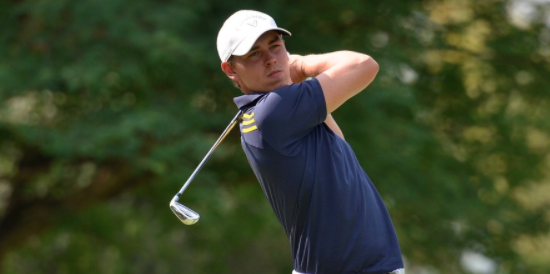 Sweden's Oliver Gillberg holds the 54-hole lead <br>(Irish Golf Desk Photo by Ernest Blignault)