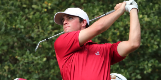 Alabama's Davis Riley is the leading American Men's point getter so far <br>(Alabama Athletics Photo)