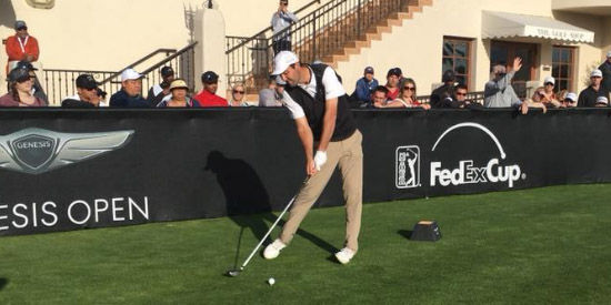 Scottie Scheffler will play in his 5th PGA Tour event this week (Genesis Open photo)