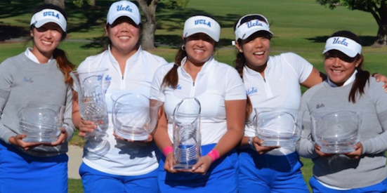 UCLA has won four tournaments in a row <br>(UCLA Athletics Photo)