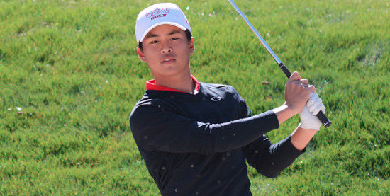 Medalist leader Shintaro Ban of UNLV <br>(UNLV Athletics Photo)