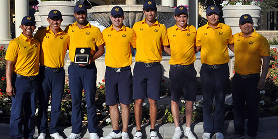 The victorious Cal Bears (Cal Athletics photo)