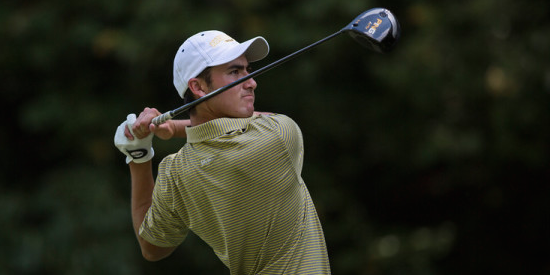 Georgia Tech senior Chris Petefish is 4-under and T4 (Georgia Tech Athletics Photo)