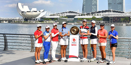 Singapore hosts the inaugural Asia-Pacific Women's Amateur (R&A photo)