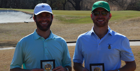 Josh Irving and Will Osborne defended their title <br>(TXGA Photo)