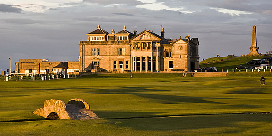 The Old Course at St. Andrews<br>(David Whyte photo)