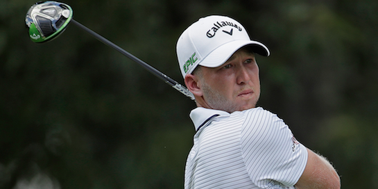 Daniel Berger (pictured) teamed with Tom Wall to win the <br>Seminole Pro-Member <br>(Callaway Golf Photo)