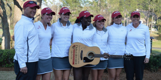 Alabama wins the Darius Rucker Intercollegiate again <br>(Alabama Athletics Photo)