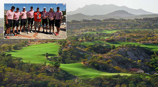 The OkSt winning tour stopped at Querencia in Mexico (OkSt Men's Golf photo)