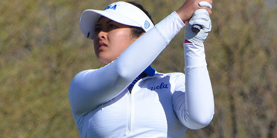 Lilia Vu has a four-tournament win streak (UCLA photo)