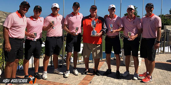 OkSt's win in at the Querencia Cabo was their 5th of the season (OkSt photo)